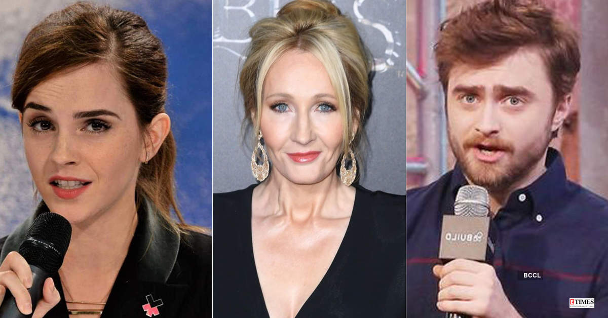 Daniel Radcliffe, Emma Watson and other 'Harry Potter' stars criticise JK Rowling's anti-trans tweets