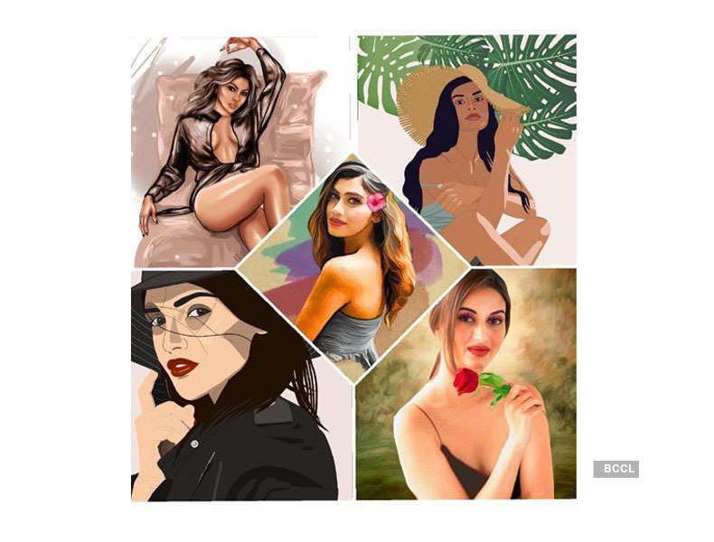 Beauty Queens * Illustration * Art Work