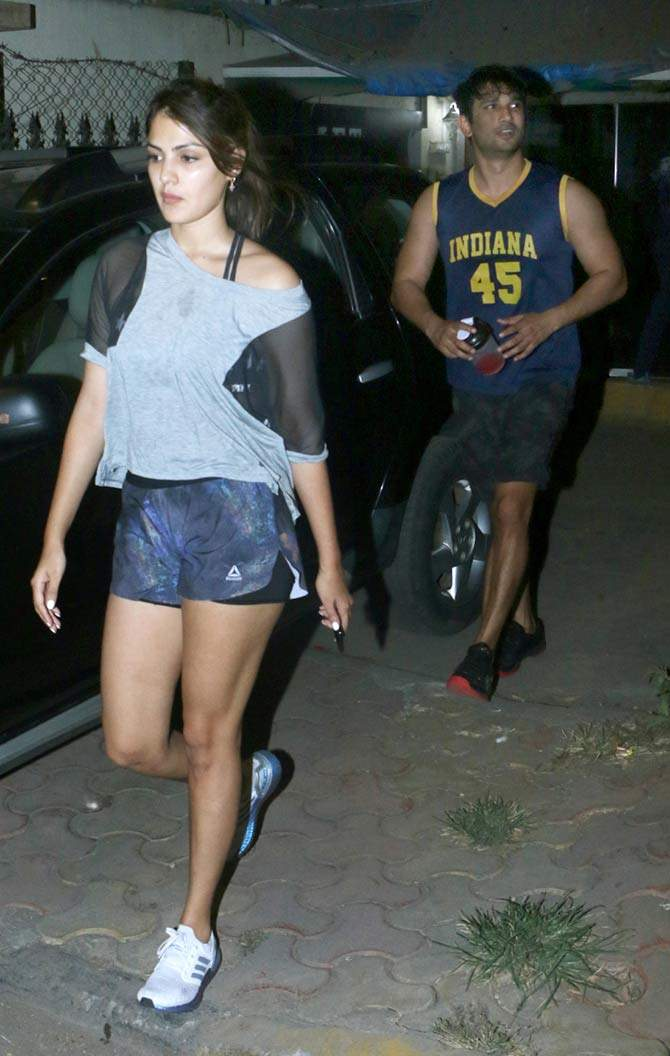 Last picture of Sushant Singh Rajput with rumoured girlfriend Rhea ...
