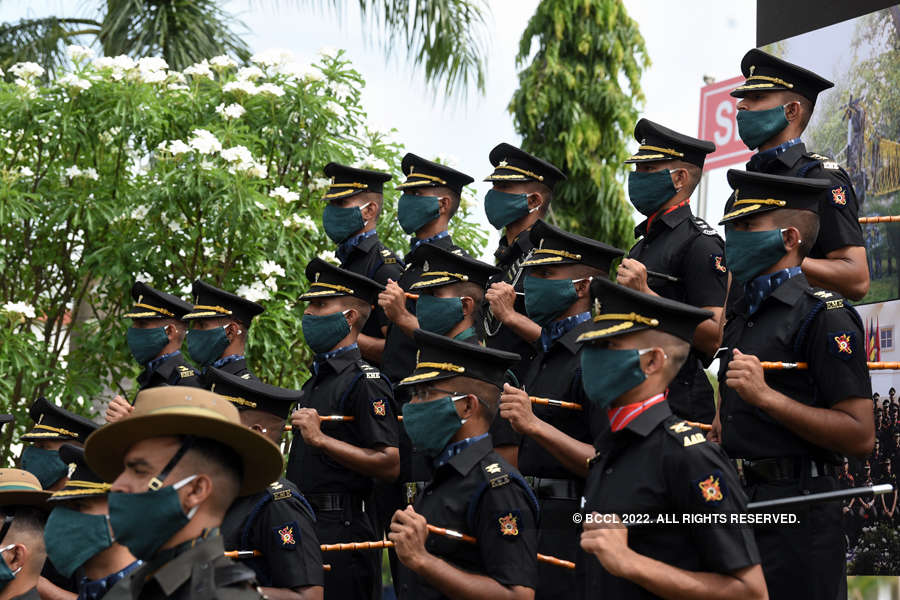 Hyderabad: 24 Gentlemen Cadets commissioned in Indian Army