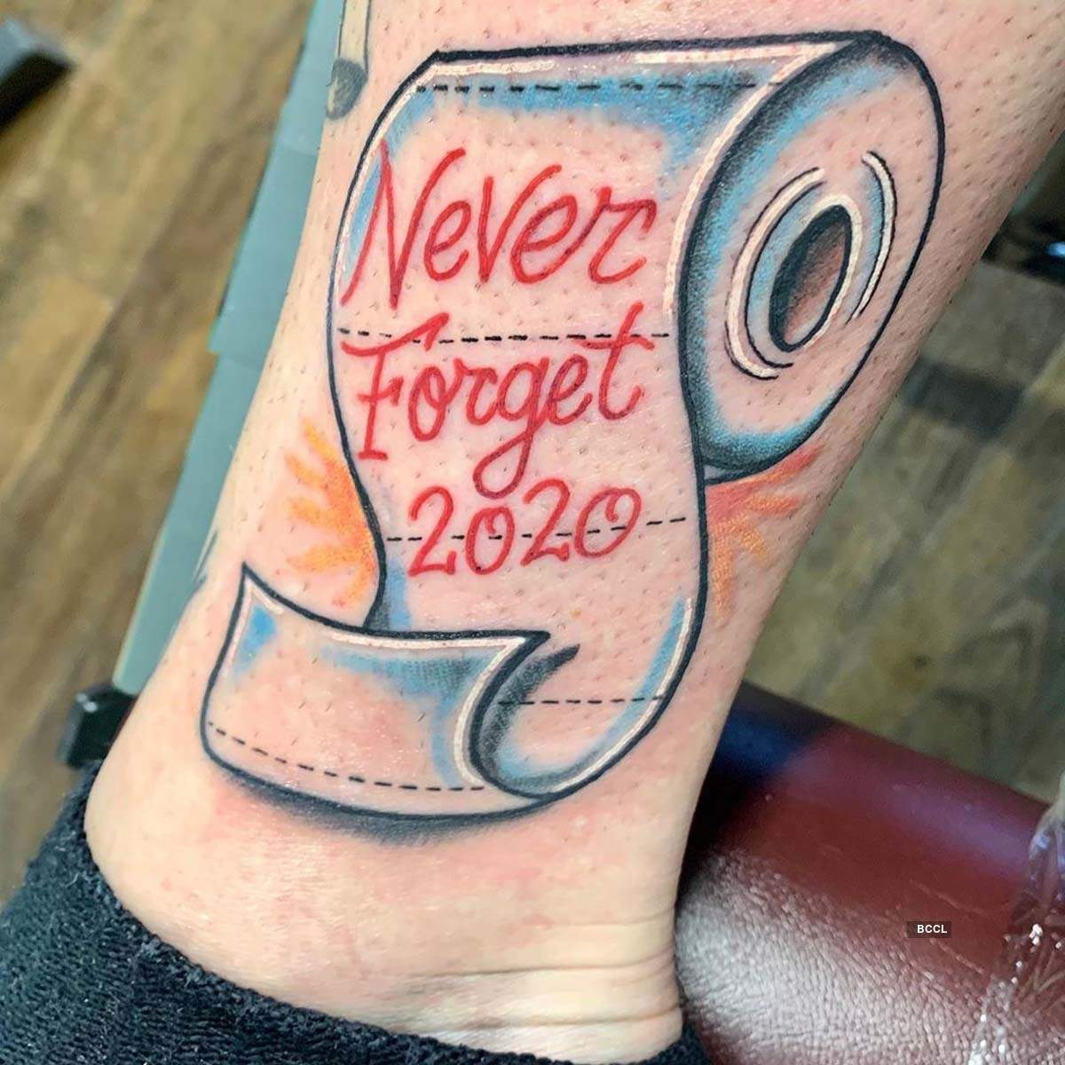 These fascinating tattoo designs inspired by Covid-19 will leave you baffled
