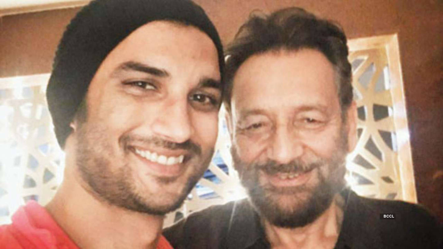 Shekhar Kapur on Sushant Singh Rajput committing suicide: People that let you down so bad that you would weep on my shoulder