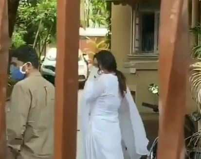 Ankita Lokhande visits Sushant Singh Rajput residence Photos