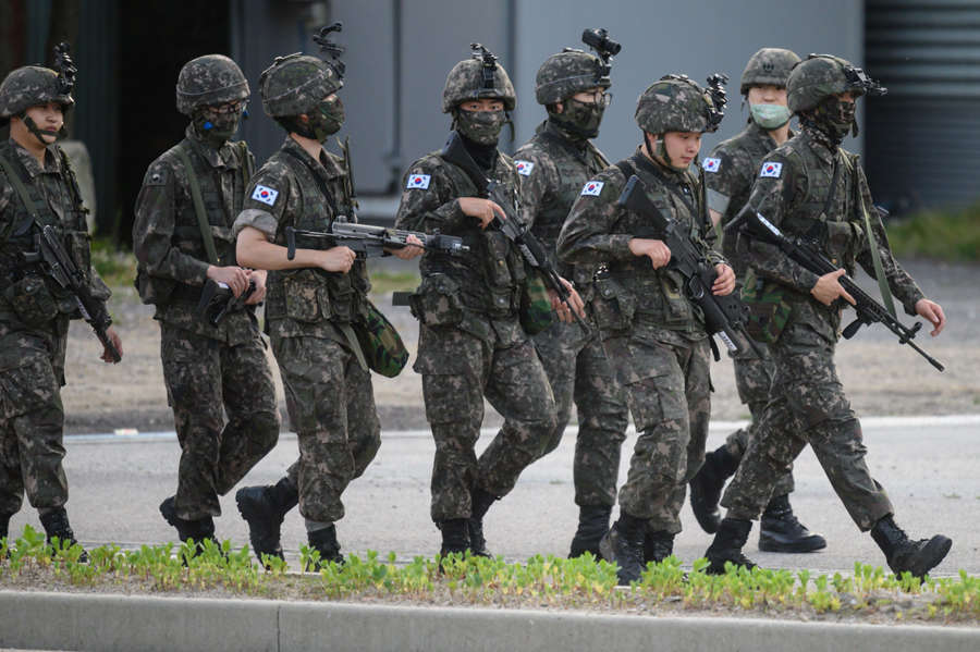 North Korea blows up liaison office as tension rises with South