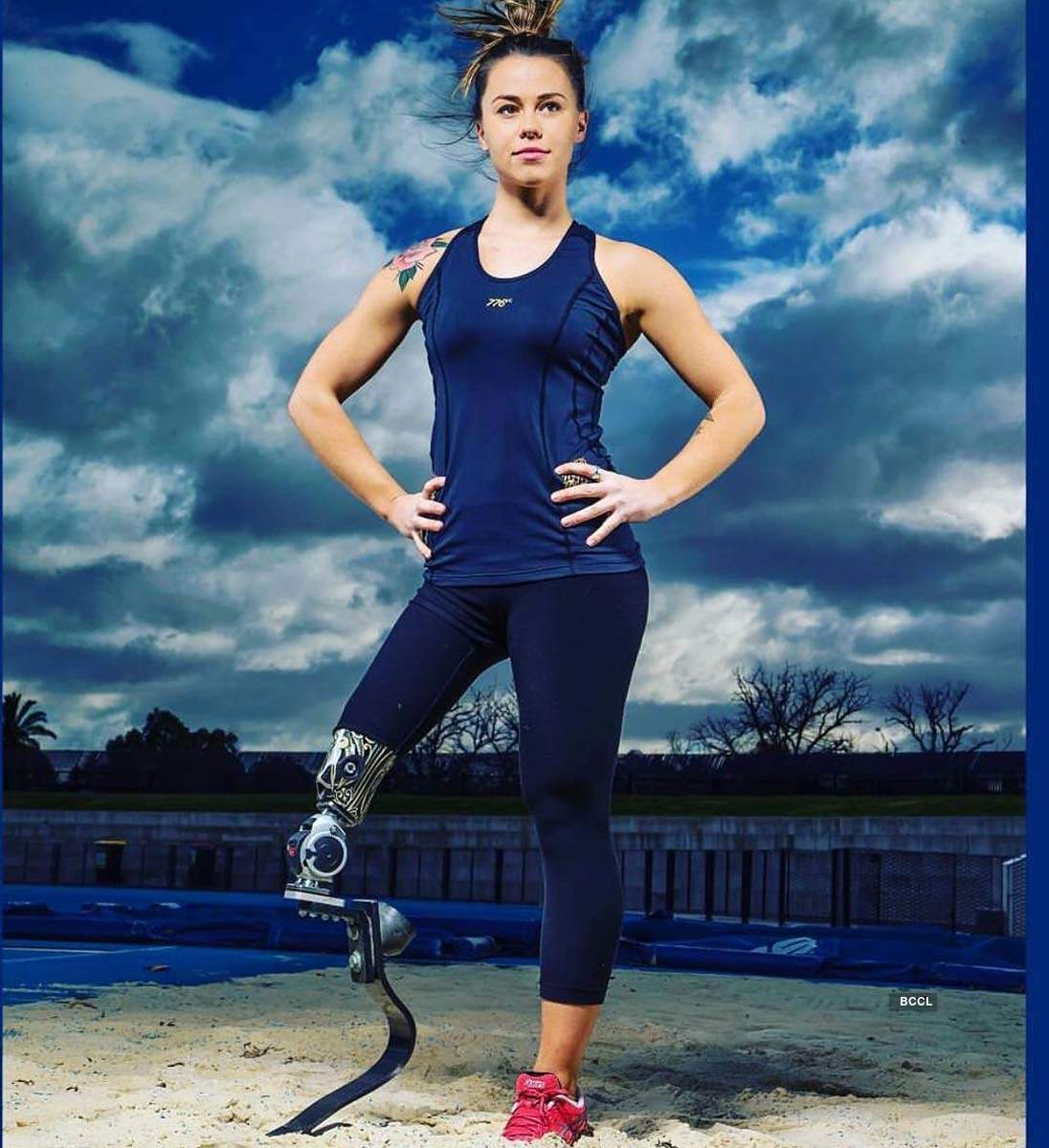 These pictures of Paralympic gold medalist Kelly Cartwright will crush your mental barriers