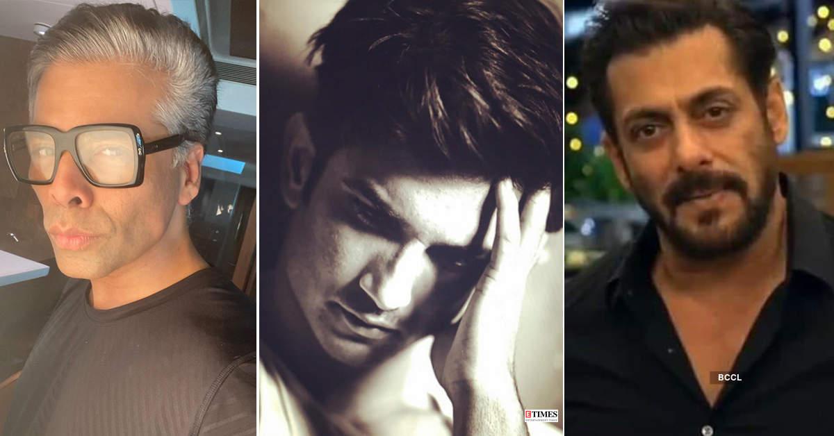 Salman Khan, Karan Johar, Ekta Kapoor and others accused of abetting suicide of Sushant Singh Rajput