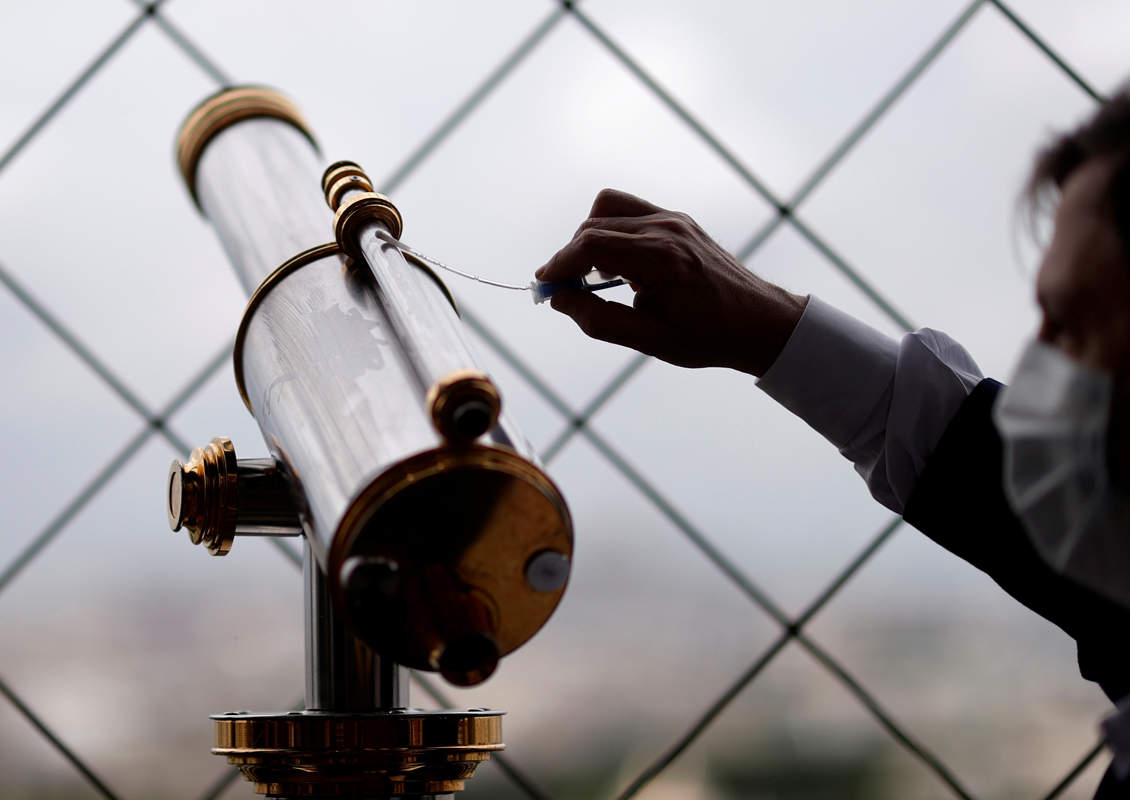 Eiffel Tower gears up to welcome visitors post Covid-19 lockdown