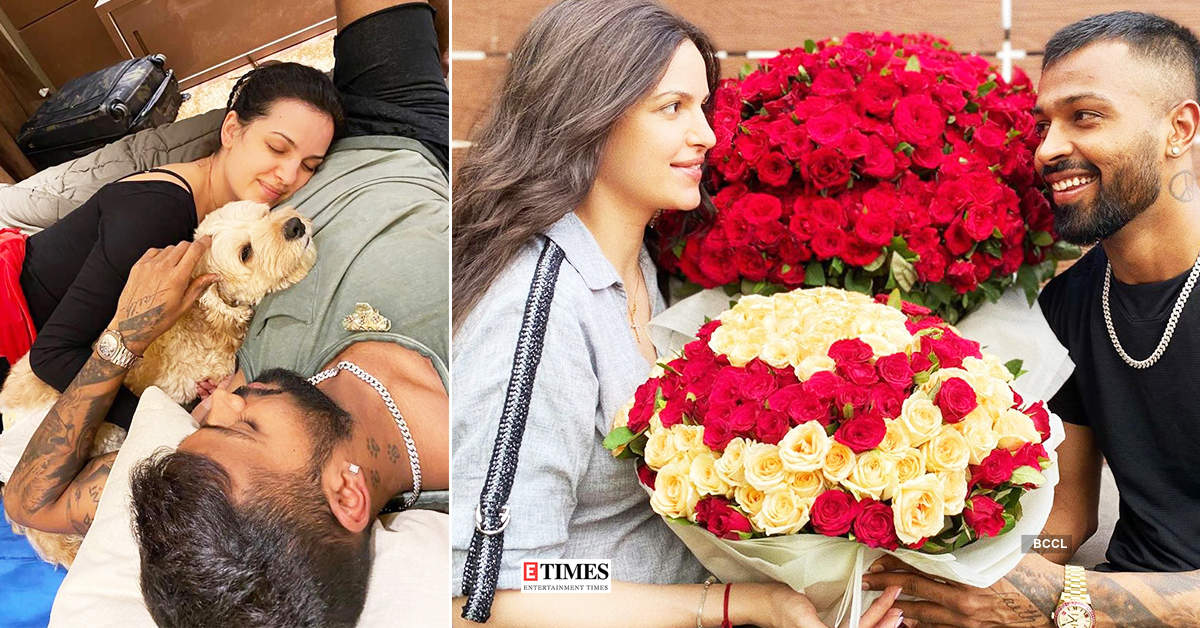 New loved-up pictures of Hardik Pandya and Natasa Stankovic go viral…