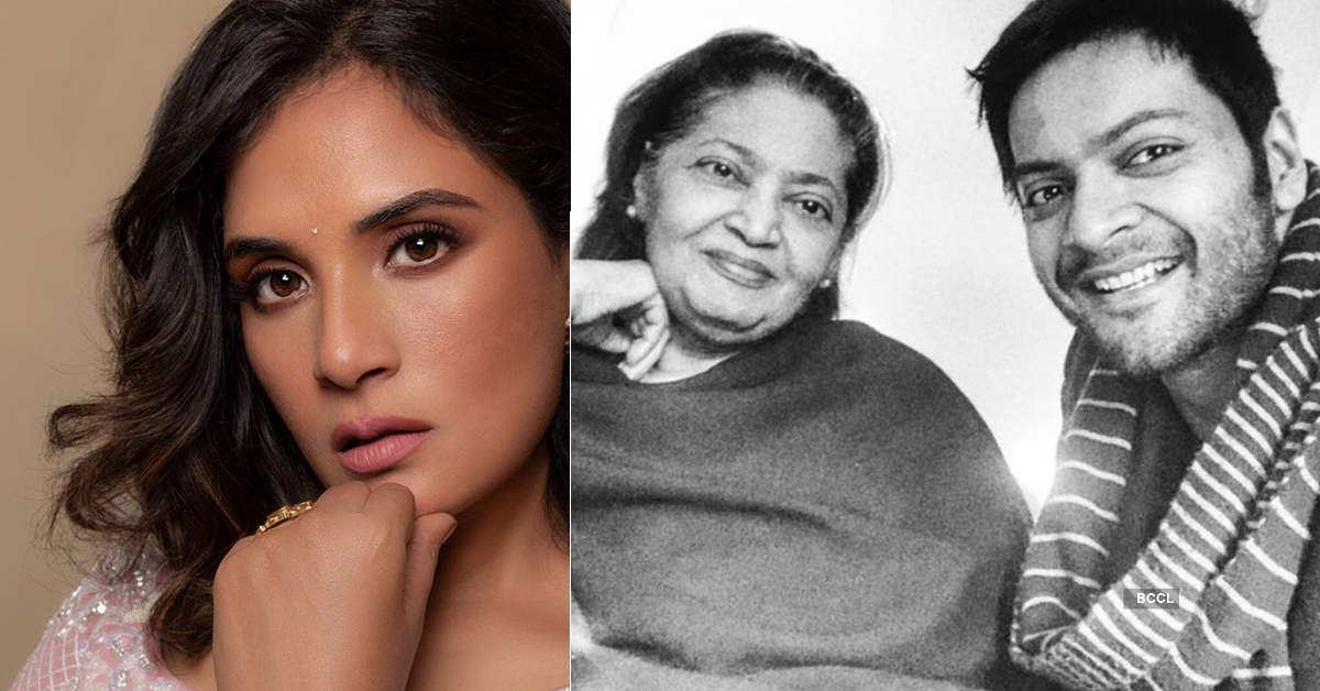 Ali Fazal and girlfriend Richa Chadha pay an emotional tribute to actor's late mommy