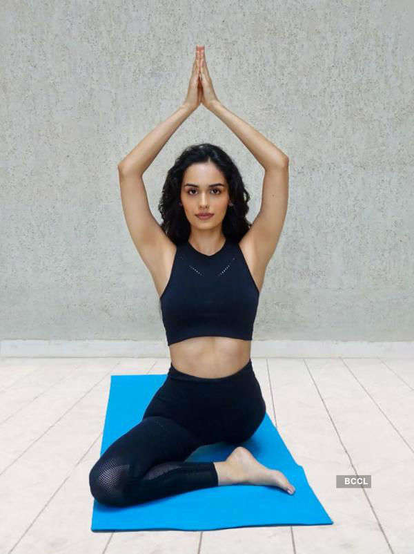 ​International Yoga Day: 'I'm proud that yoga is India's gift to the world, says Manushi Chhillar'​