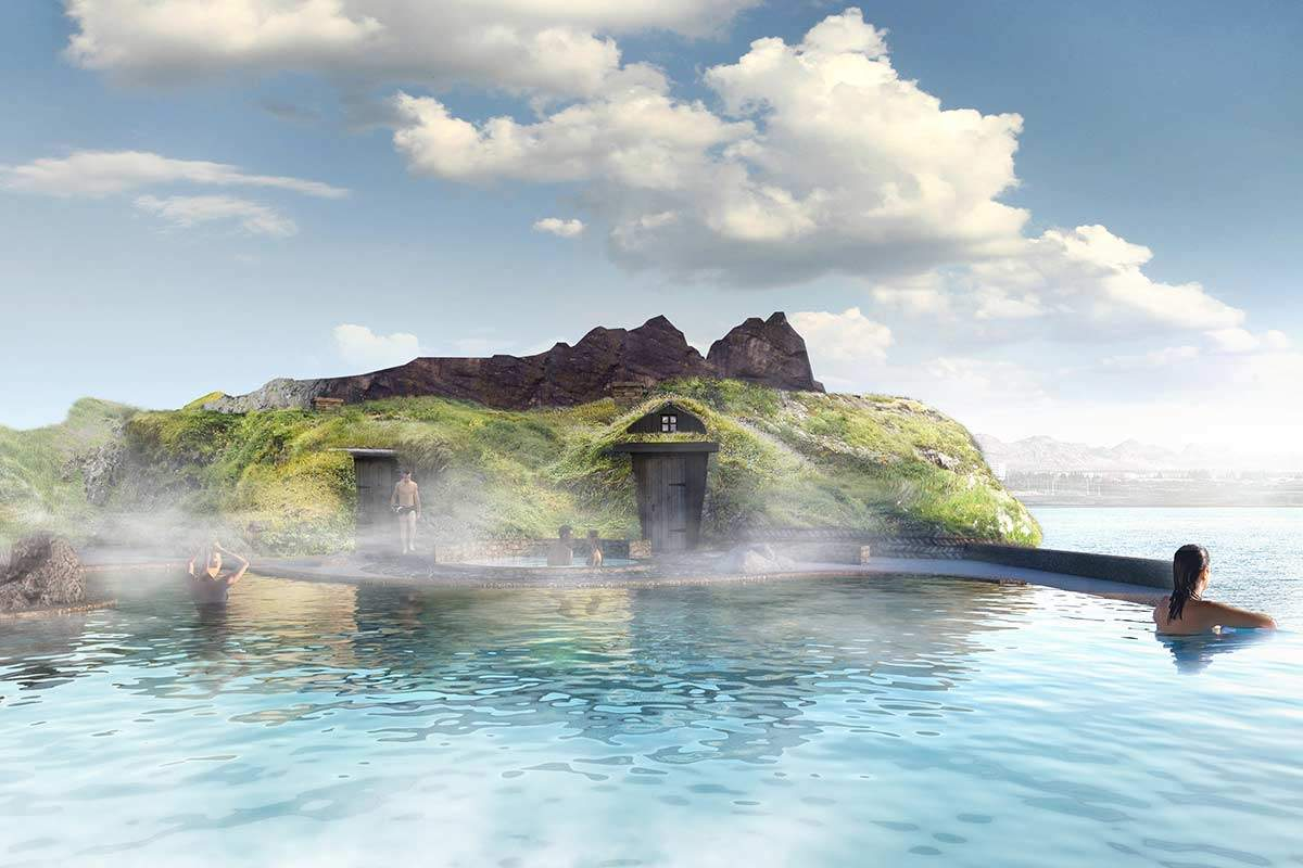 Iceland welcomes you to a fantastic geothermal lagoon in the spring of 2021