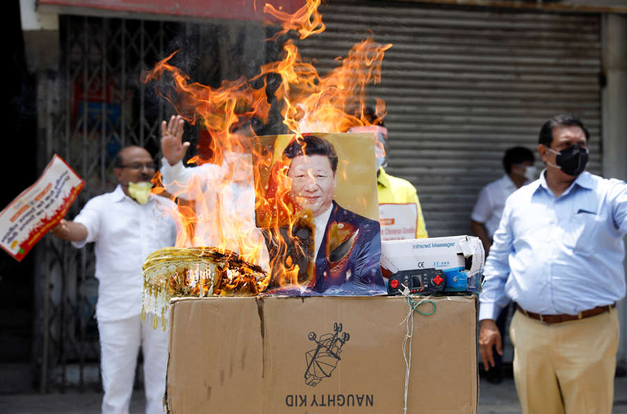 Anti-China protests erupt across India after violent face-off in Ladakh