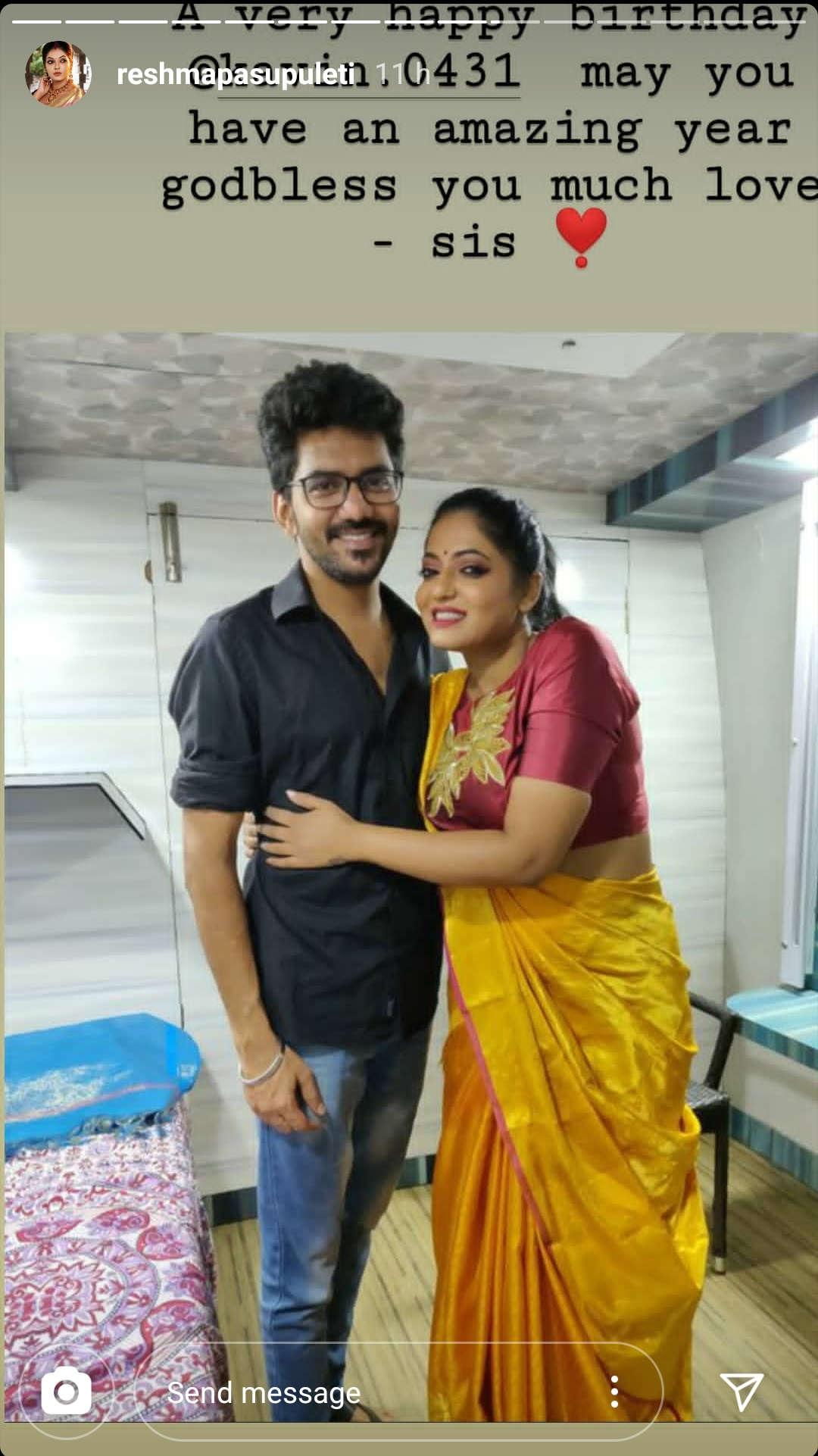 Reshma Pasupuleti wishes Kavin on his Birthday