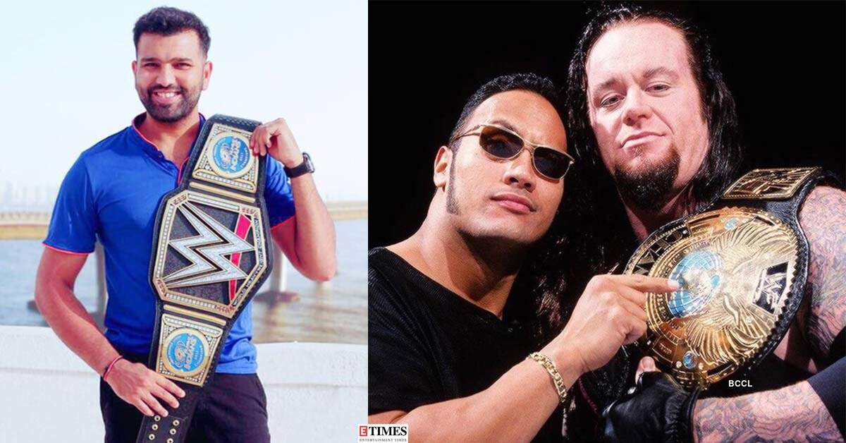 These pictures of Mumbai Indians paying tribute to retired WWE wrestler The Undertaker win hearts