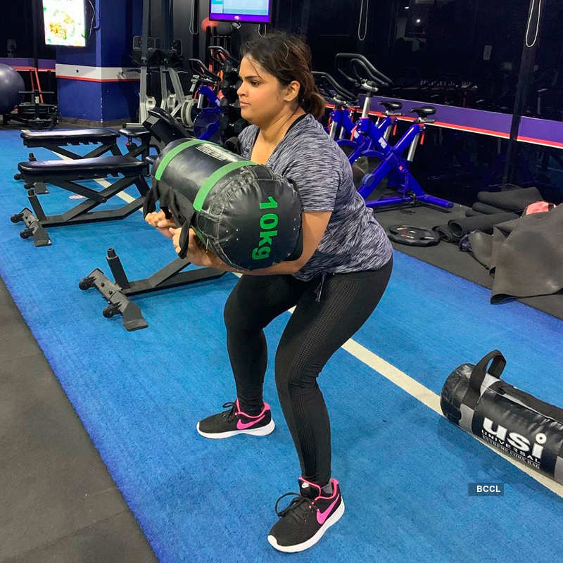 Vidyullekha Raman's physical transformation is inspirational