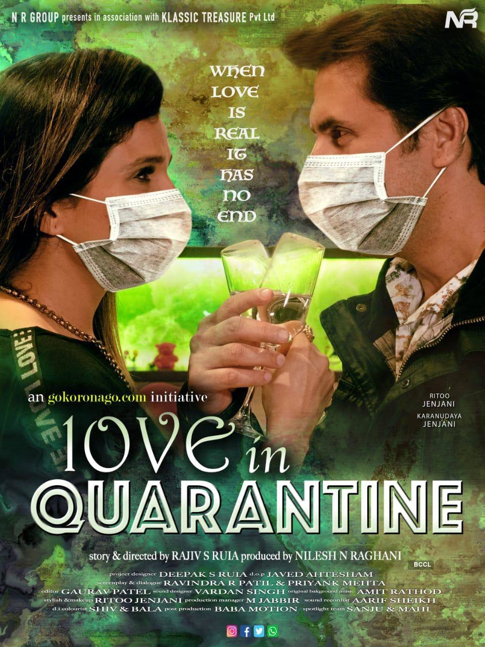 'Love in Quarantine,' a short film by Nilesh N Raghani watched by more than 1000 doctors