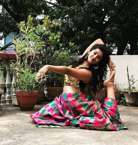 These pictures will reveal actress Lasya Nagraj's fitness mantra