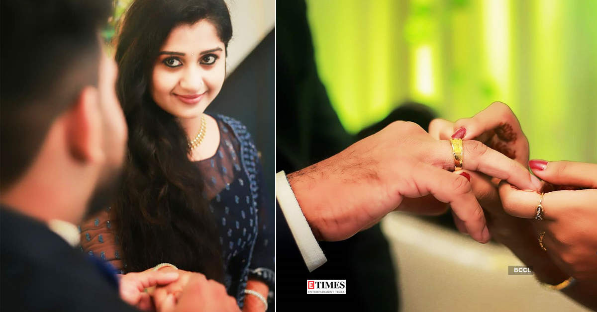 Actress Anaswara Ponnambath is all set to tie the knot, gets engaged to an engineer