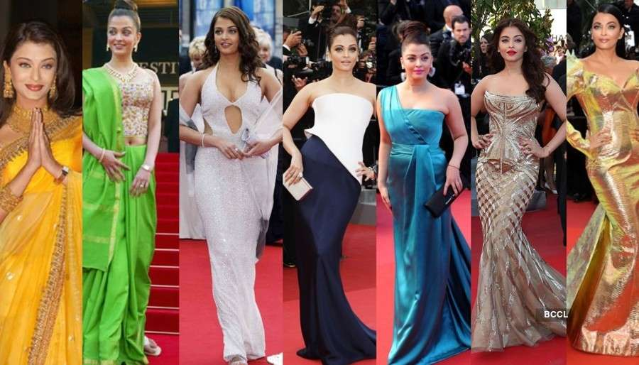Tracing Aishwarya Rai Bachchan's style evolution at Cannes Film Festival over the years