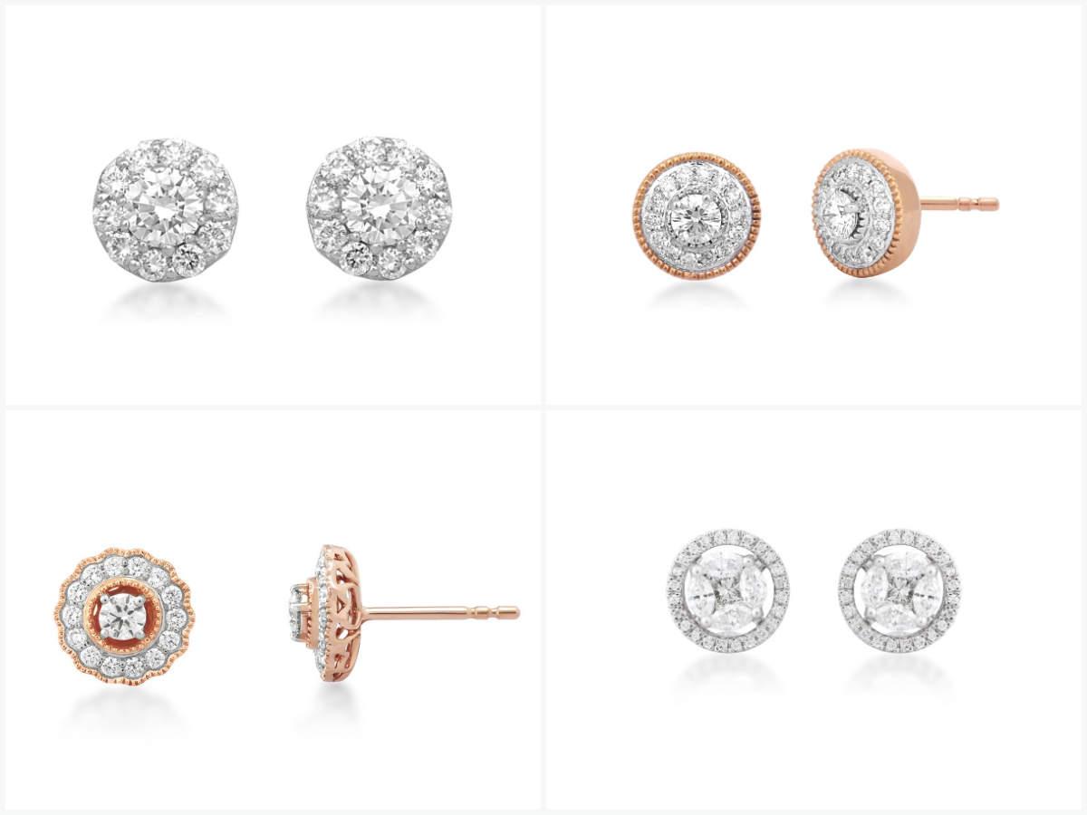 Stud earrings by Irasva