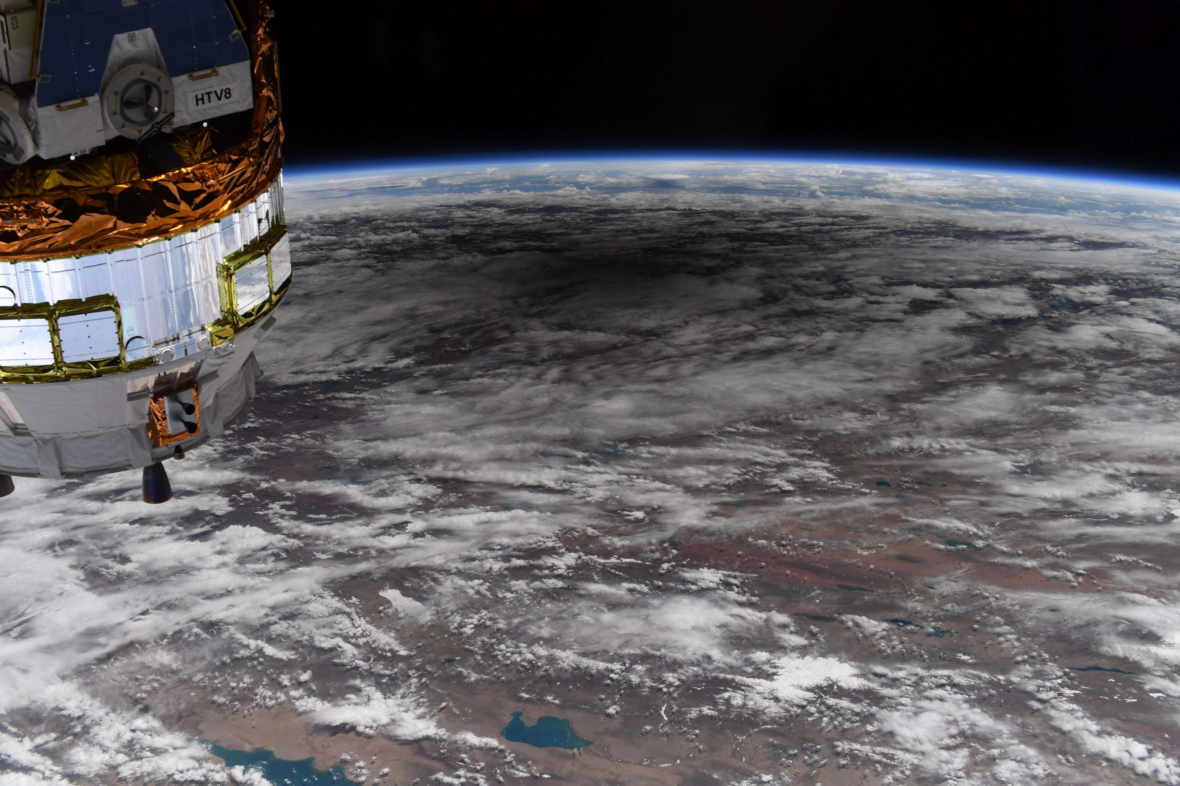 NASA astronaut shares spectacular Solar Eclipse images from space