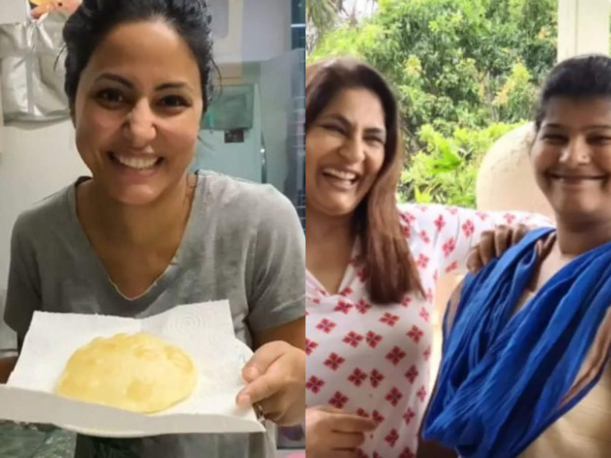 Hina Khan's cooking to Archana Puran Singh-Bhagyashri's funny banter; these TV celebs kept their fans entertained during lockdown