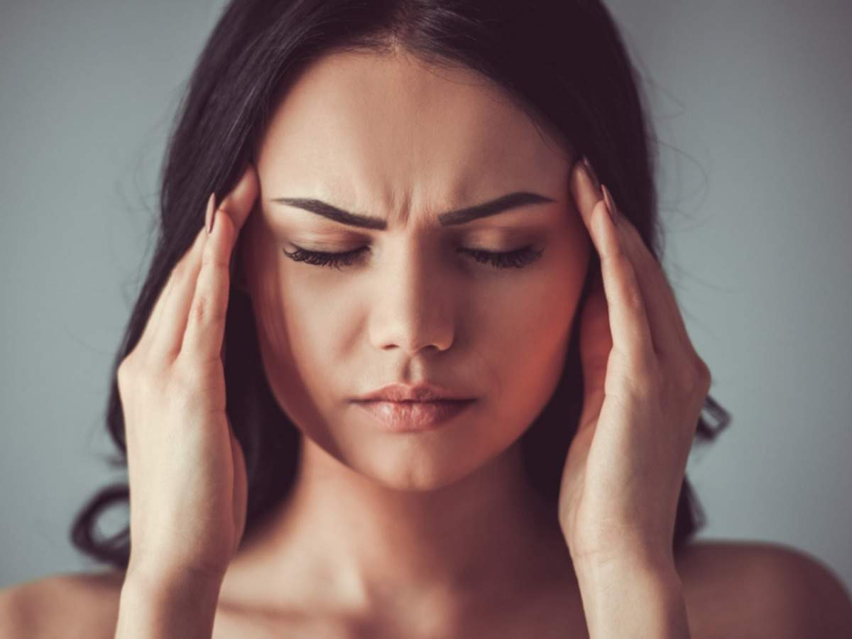 Yoga For Migraine Yoga Poses That May Help Manage The Pain The Times Of India
