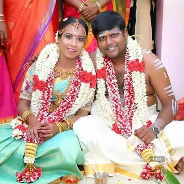 Pictures from Ashwin Raja and his ladylove Vidyasree's wedding amid lockdown