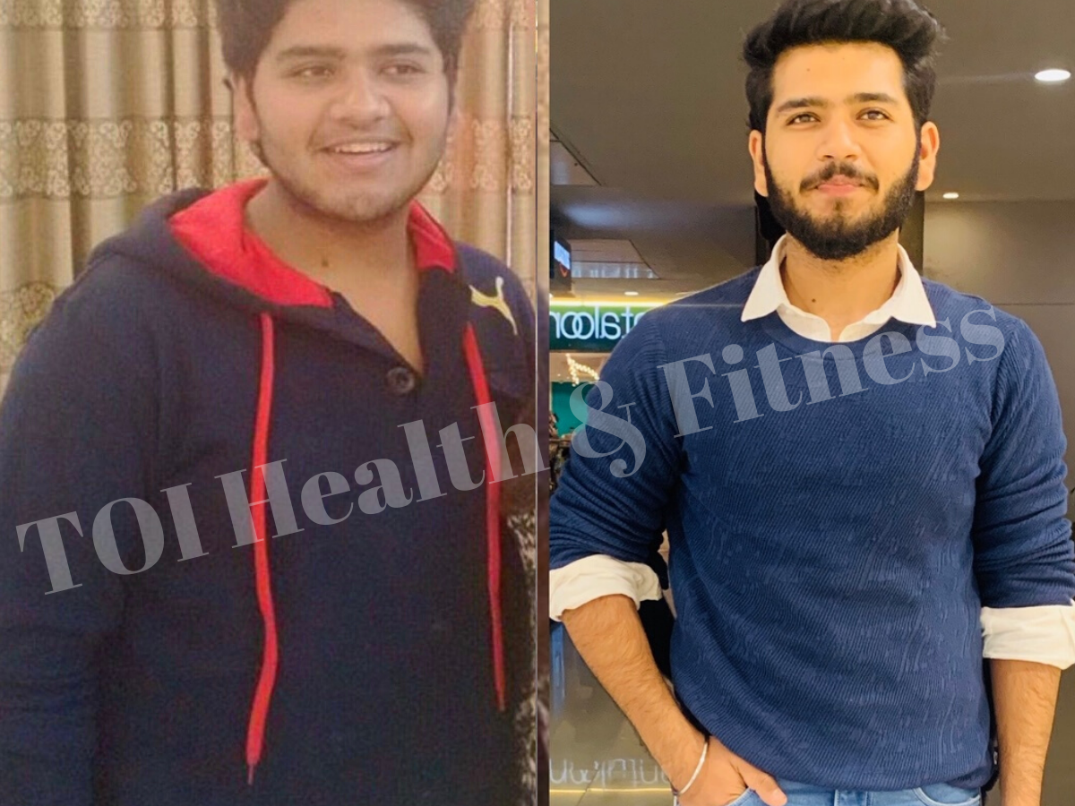 Lockdown Weight Loss Story From An Overweight Kid To A Fitness Blogger This Guy S Weight Loss Journey Is Incredible The Times Of India