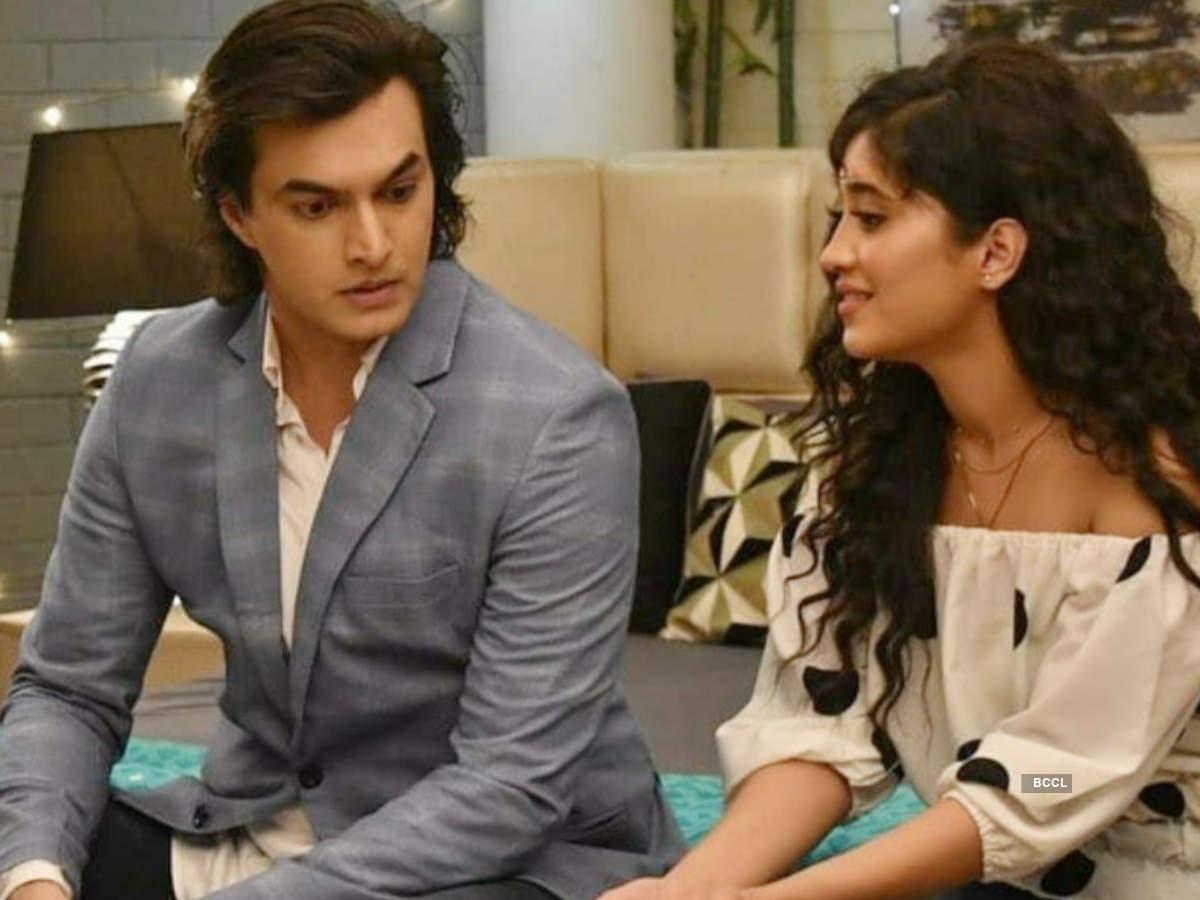 Shivangi and Mohsin shoot for Yeh Rishta Kya Kehlata Hai