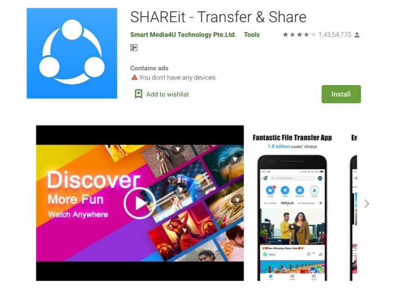 Shareit alternatives: AirDrop, Wi-Fi Direct on your phone, Files Go
