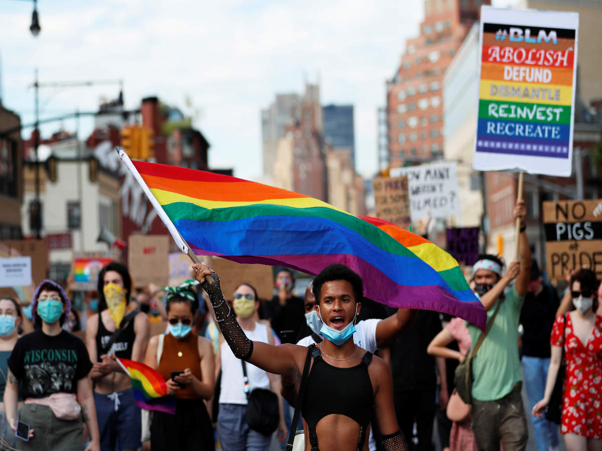 The New York Pride marked 50 years since its first pride parade