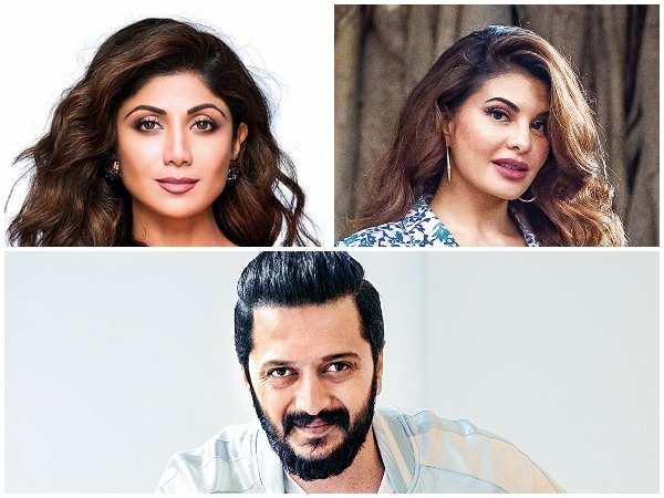 Shilpa Shetty Kundra, Jacqueline Fernandez and Riteish Deshmukh