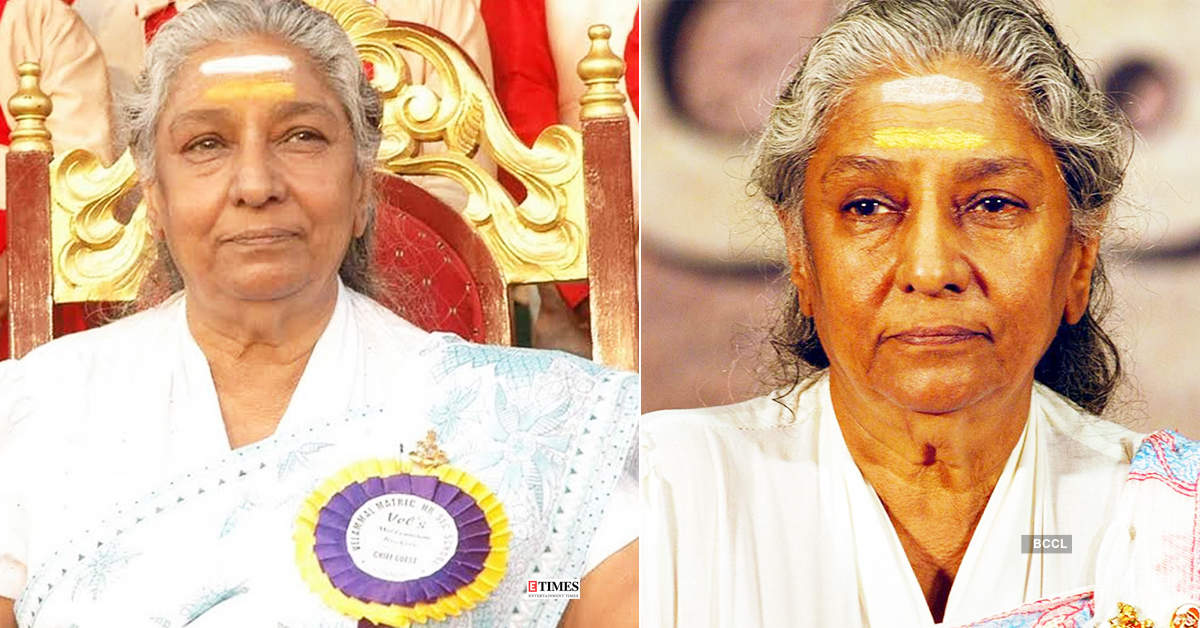 Rumours about S Janaki's death go viral, singer calls it 'fake'