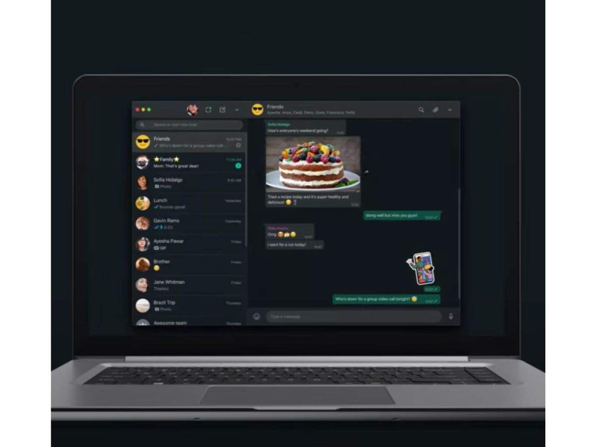 You will soon get support for dark mode on desktop and WhatsApp web