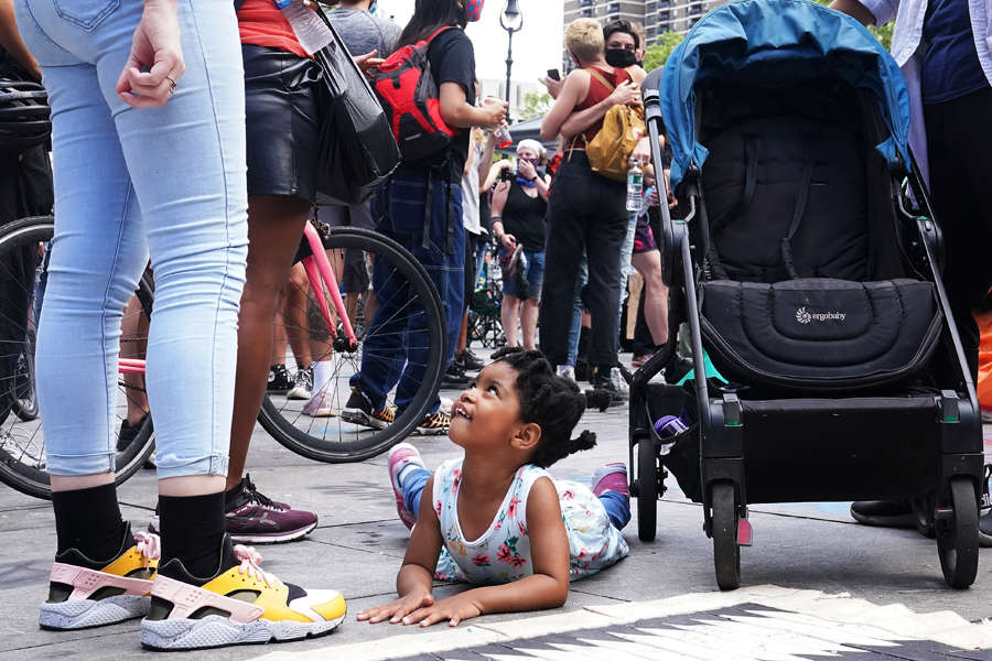 Inside pictures from New York City's autonomous protest zone