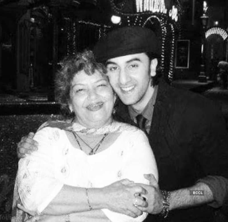 Unseen pictures of legendary Bollywood choreographer Saroj Khan