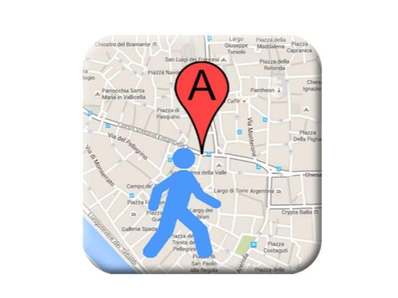 Street maps app