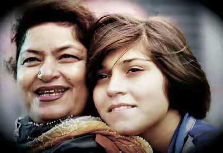 saroj khan and daughter