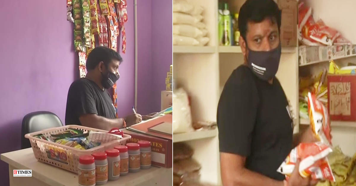 Tamil filmmaker opens grocery store to make ends meet amid coronavirus pandemic