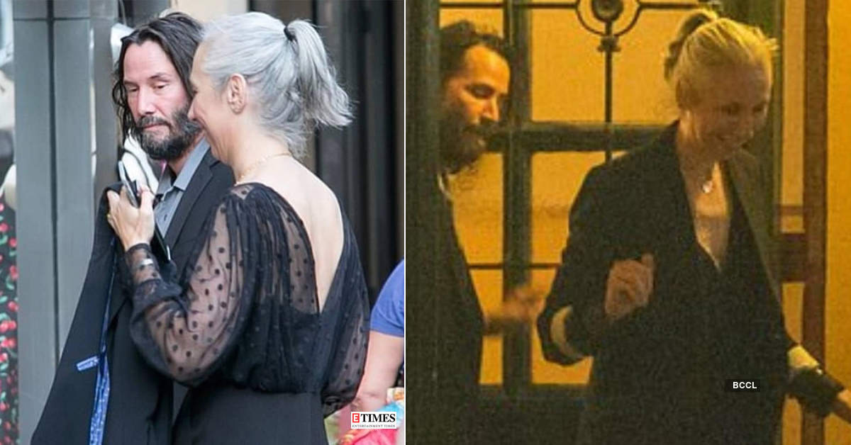 Keanu Reeves and girlfriend Alexandra Grant enjoy dinner with 'Matrix 4' co-stars