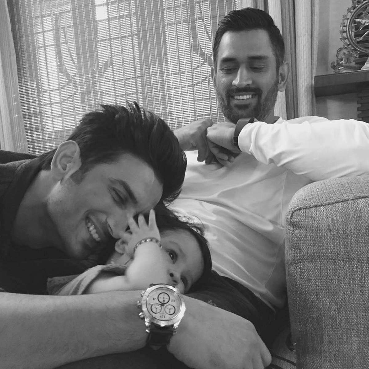 30 Picture perfect moments from birthday boy MS Dhoni's life