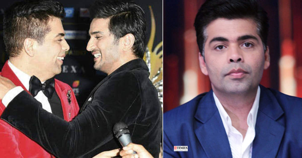Friend says Karan Johar is constantly crying over hatred comments post Sushant Singh Rajput's demise
