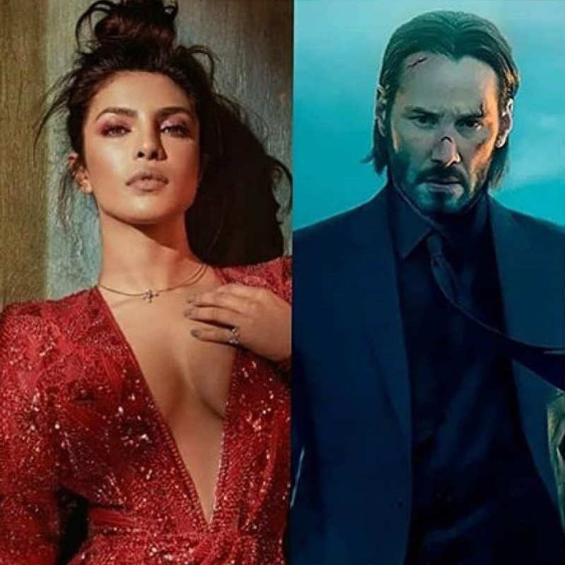 Netizens are going crazy as Priyanka Chopra is joining Keanu Reeves in 'Matrix 4'