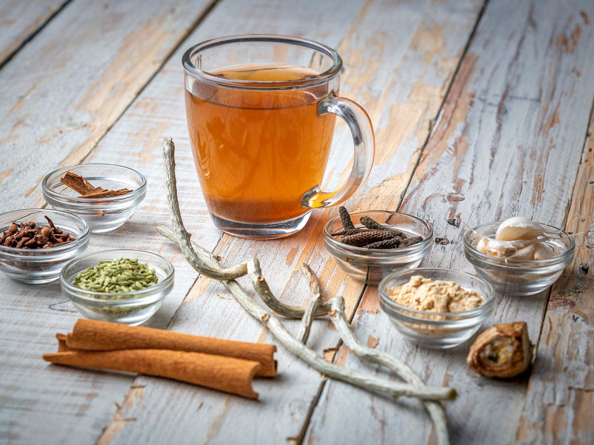 The best time to have your immunity-boosting kadha | The Times of India