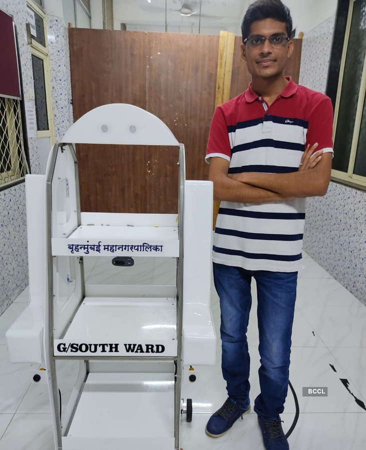 Exclusive: Meet the man behind introducing the first robot at M. A. Podar Hospital for COVID-19 patients