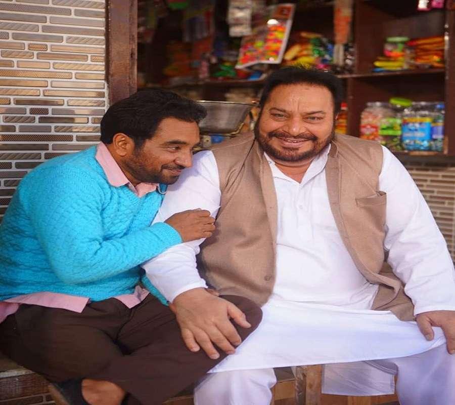 Rana Jung with actor-director Rana Ranbir