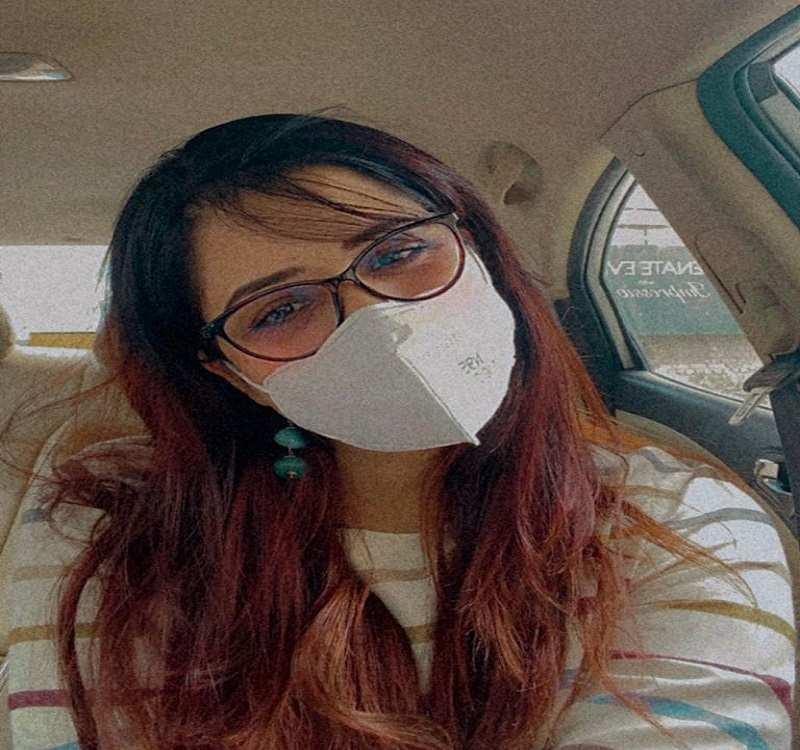 Isha flaunts her mask looks