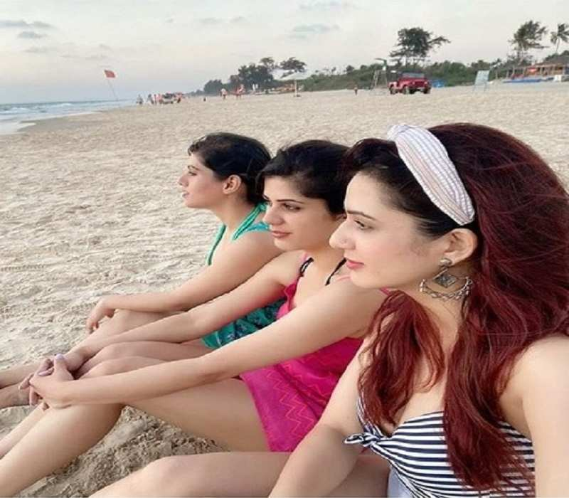 Isha loved the beaches of Goa