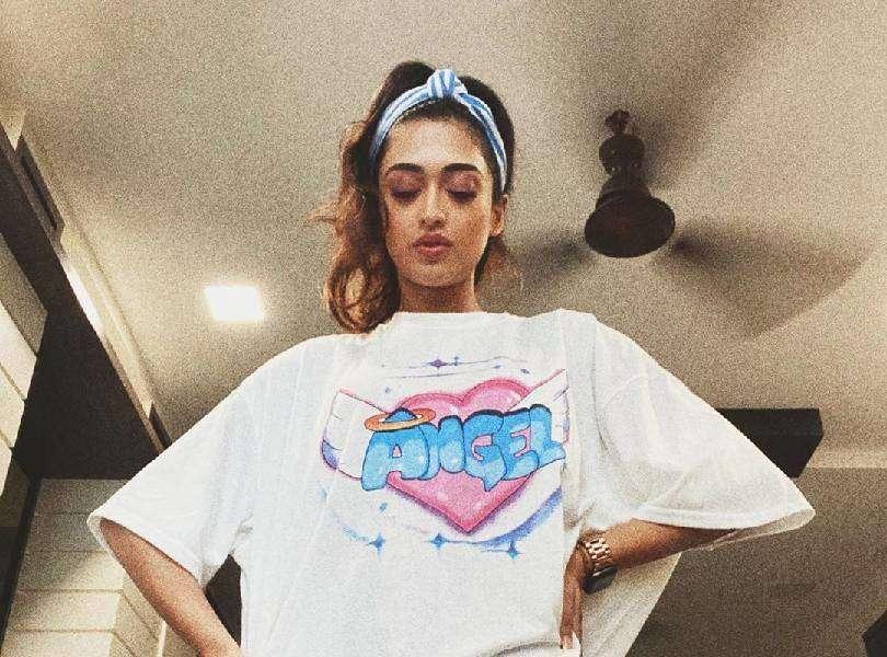 Gayatri Bhardwaj poses in her very own quarantine spring/summer collection 2020